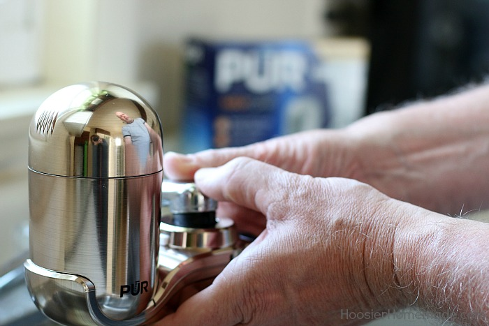 How to Install a Water Filter - Hoosier Homemade