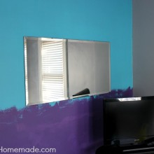 Teen Bedroom Makeover :: HoosierHomemade.com