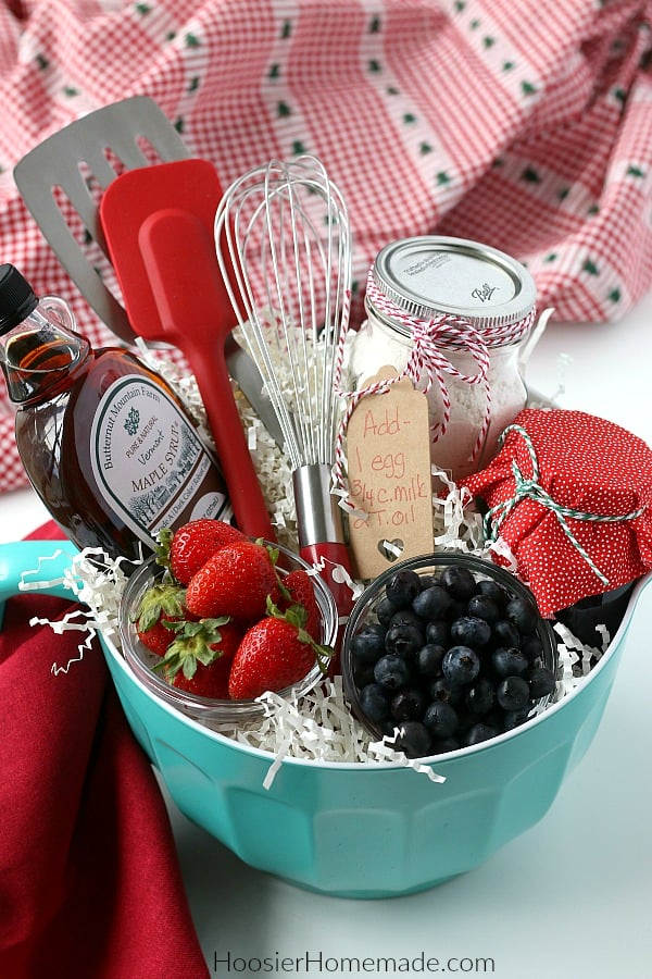 Gift Basket for Breakfast