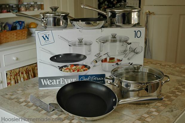 WearEver Pans from Walmart