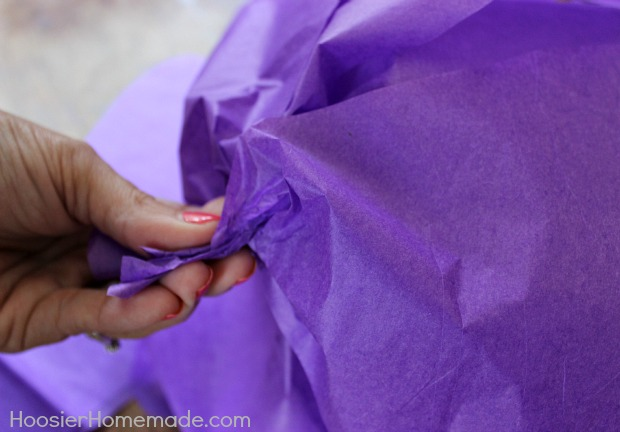 How to make giant tissue paper flowers hoosier homemade continue mightylinksfo