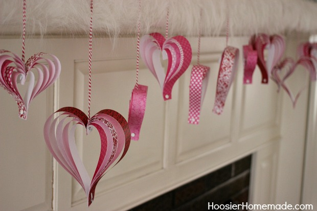 Paper Hearts by Hoosier Homemade