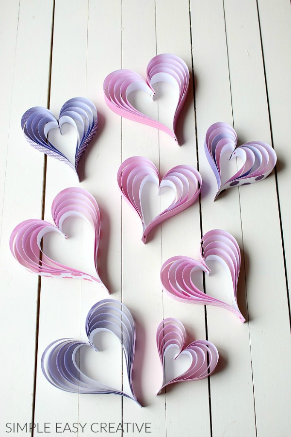 How to make Paper Hearts