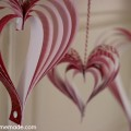 Valentine's Day Craft: How to make Paper Hearts:: Instructions on HoosierHomemade.com