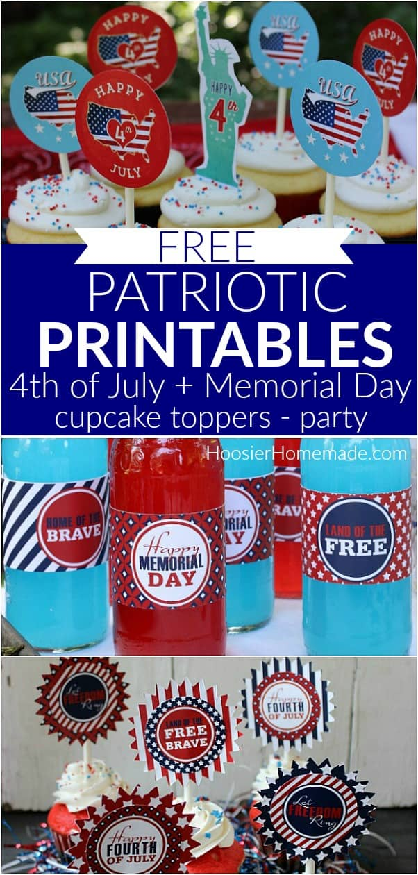photo about Closed Memorial Day Sign Printable known as Free of charge Printables for 4th of July and Memorial Working day - Hoosier