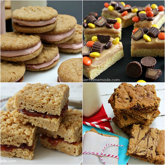 Peanut Butter Cookies - 4 scrumptous recipes for the Peanut Butter lover in your home!