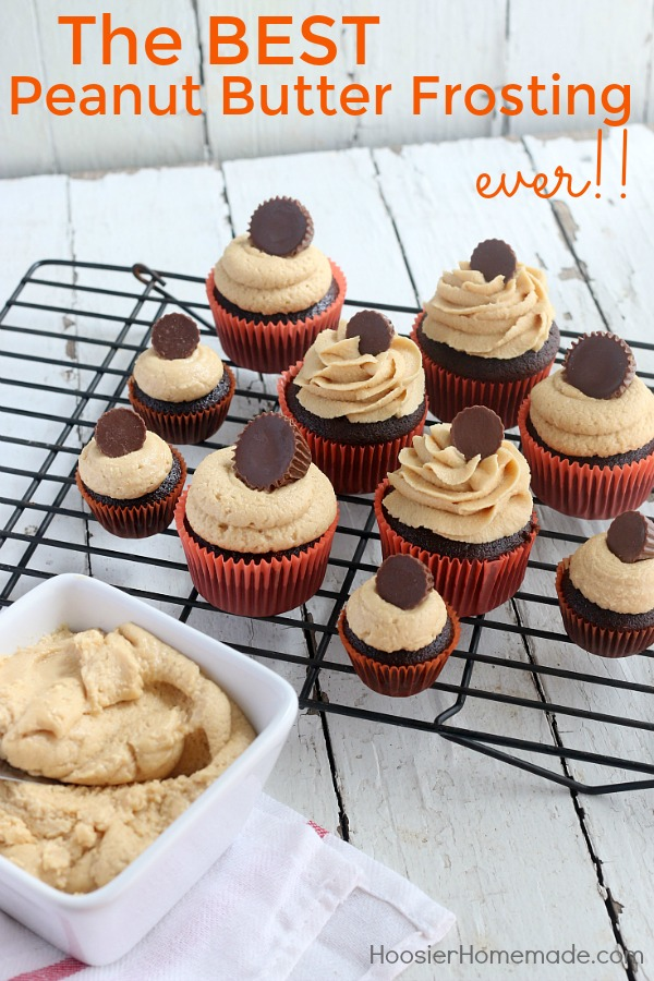 peanut butter icing for cupcakes recipe