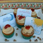 Peanut Butter & Jelly Cupcakes - August 2011