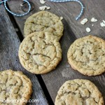 Peanut Butter Oatmeal Cookies | Recipe on HoosierHomemade.com