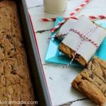 Peanut Butter Swirl Bars :: Recipe on HoosierHomemade.com