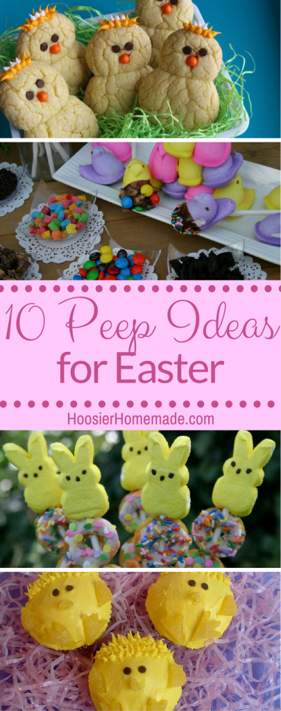 10 Cute Peep Ideas