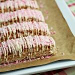 Peppermint Biscotti: 100 Days of Homemade Holiday Inspiration on HoosierHomemade.com