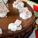 Peppermint Mocha Cheesecake