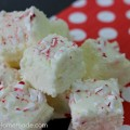 Peppermint Fudge | Recipe on HoosierHomemade #KraftRecipes