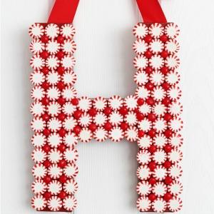 Peppermint Monogram :: HoosierHomemade.com