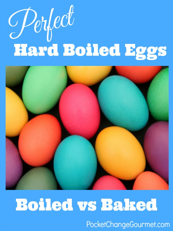 Baked or Boiled? Learn how to cook the perfect hard boiled egg! Pin to your Cooking Tips Board!