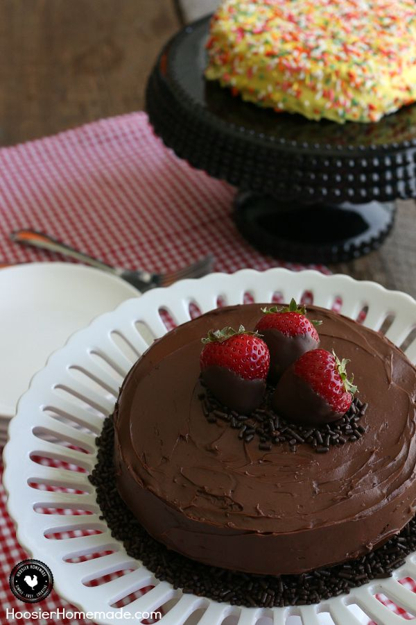 The perfect way to celebrate those everyday moments - this perfect size cake goes together in minutes and takes only 3 ingredients! Click on the Photo to learn more!