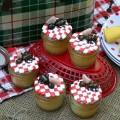 Picnic Ant Cupcakes