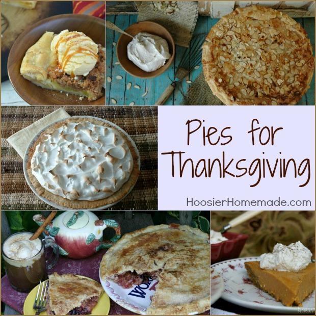 Pies for Thanksgiving: Recipes on HoosierHomemade.com