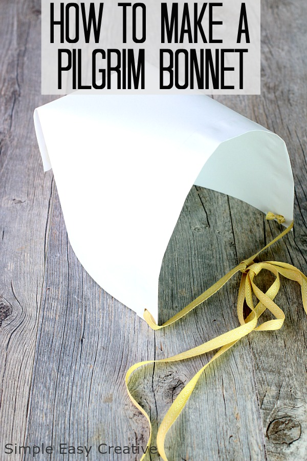 HOW TO MAKE PILGRIM HATS