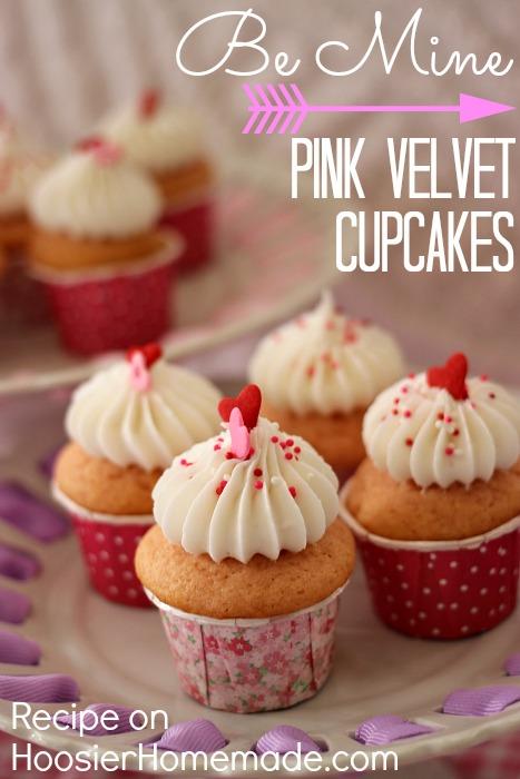 i started with the vanilla cupcake recipe - Valentine Cupcake Recipes
