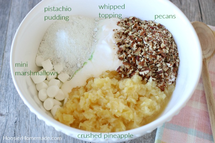 Ingredients for Watergate Salad