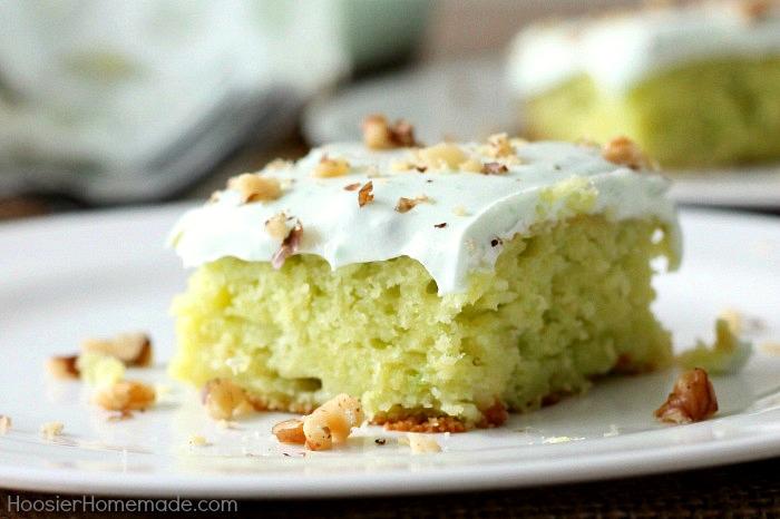 Pistachio Cake Bars