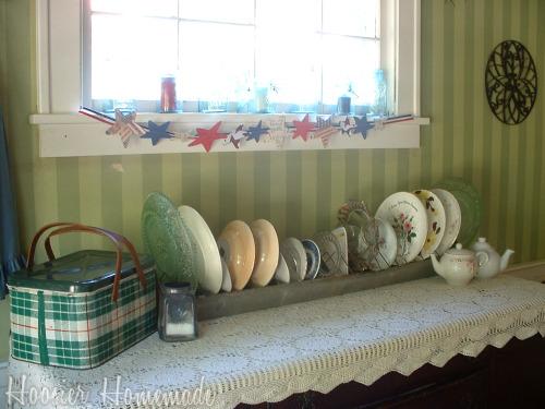 Repurposed Plate Rack Ideas
