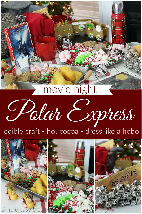 Movie Night with Polar Express