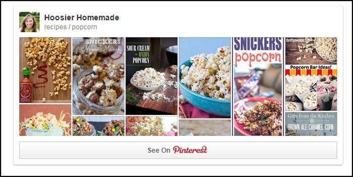 Popcorn Pinterest Board