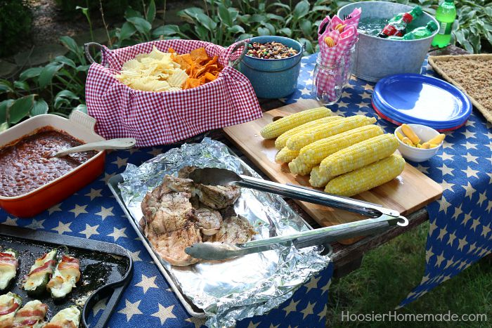 Simple Cookout Food