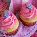 Princess Party with Cupcakes and Decorations :: on HoosierHomemade.com