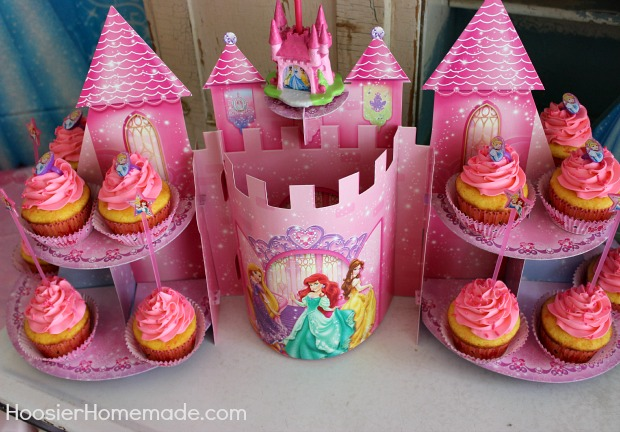 Princess Party Cupcakes And Decorations Hoosier Homemade