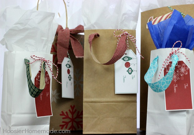 Printable Christmas Tags
