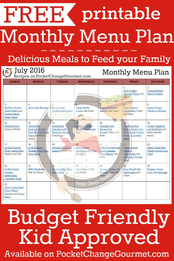 Printable-July-Monthly-Menu
