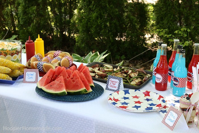 Printable Memorial Day BBQ Party