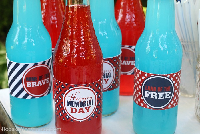 Drinks Wraps for Memorial Day BBQ Party