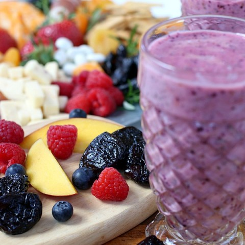 Healthy Fruit Smoothies with Prunes