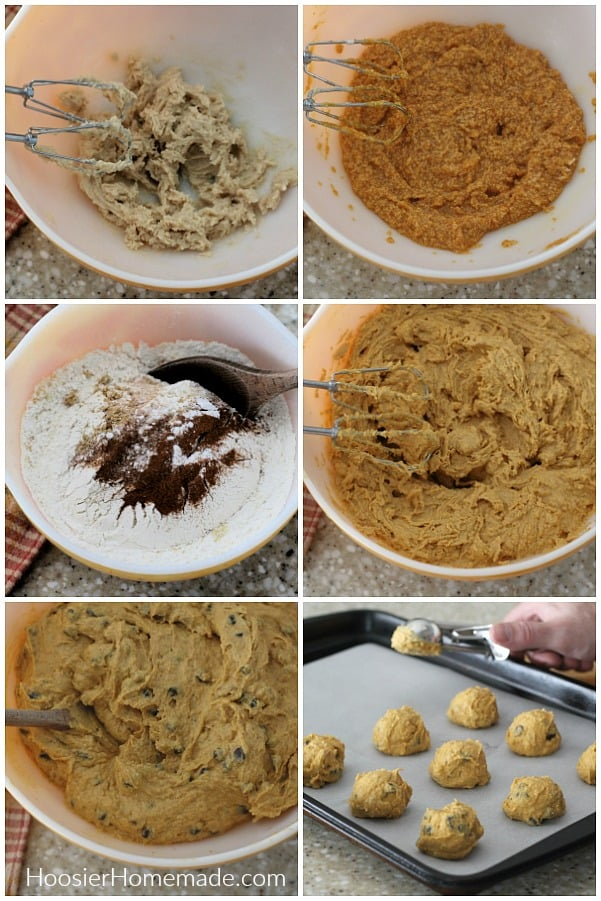 How to make Pumpkin Chocolate Chip Cookies