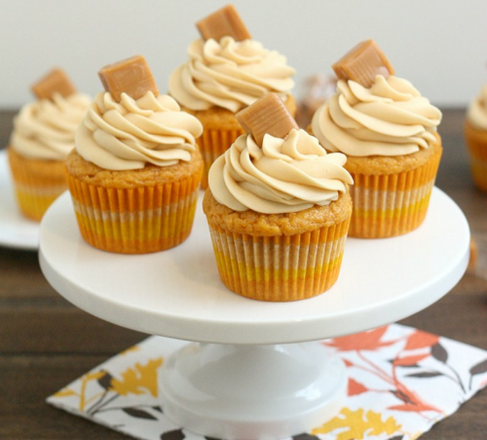 Awesome Fall Cupcake Decorations Part - 7: Fall Cupcake Topper Printables
