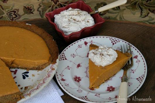 Pumpkin Icebox Pie Recipe