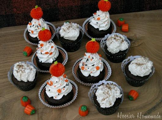 adult halloween cupcakes