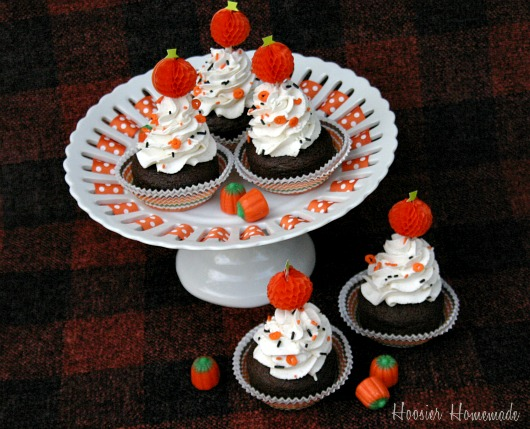Halloween Cupcakes Pumpkin Spice Latte Hoosier Homemade