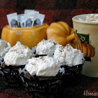 Halloween Cupcakes: Pumpkin Spice Latte