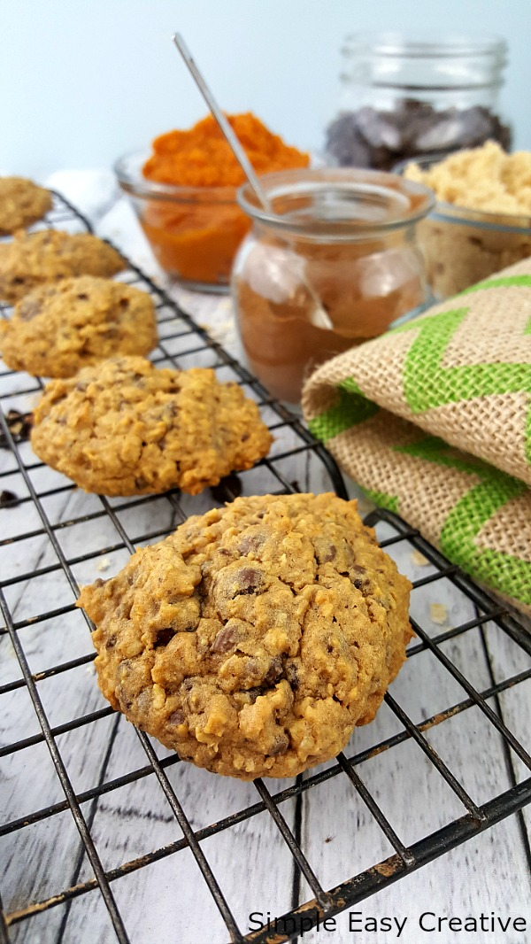 PUMPKIN OATMEAL CHOCOLATE CHIP COOKIES RECIPE