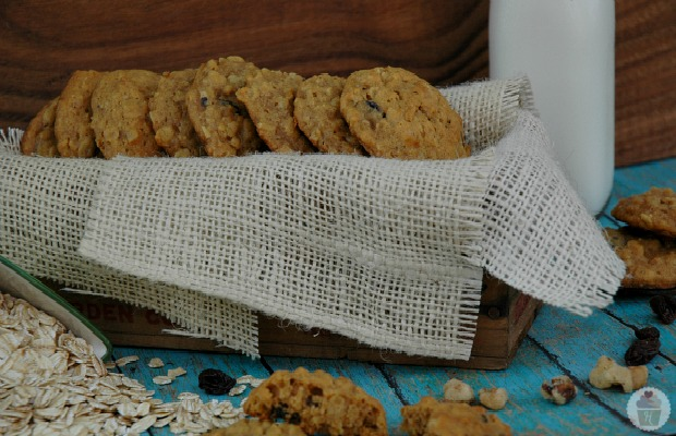 ... and check out Tiffany's recipe for Pumpkin Biscoff Monster Cookies