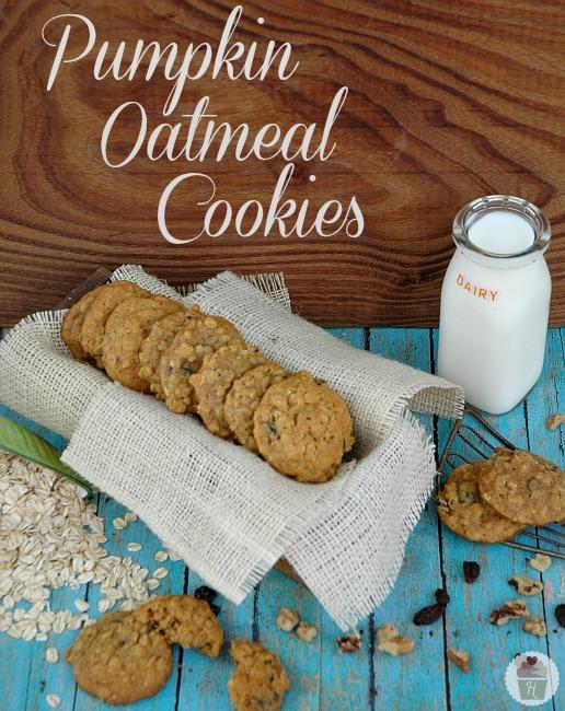 ... oatmeal pumpkin spiced oatmeal biscoff pumpkin oatmeal cookies pumpkin