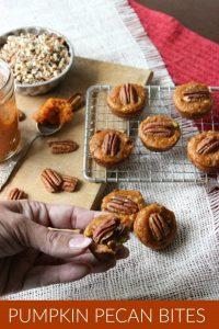 Pumpkin Pecan Bites