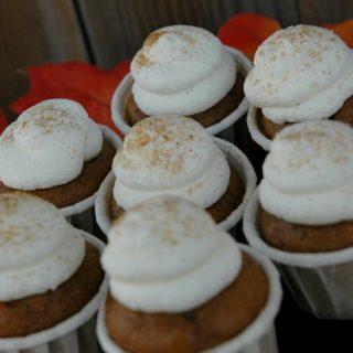 Pumpkin Pie Cupcake Bites