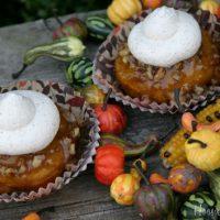 Pumpkin Praline Cupcakes: Thanksgiving Cupcakes